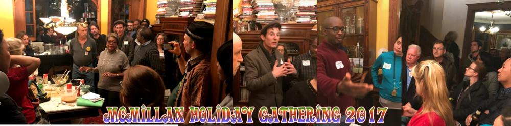 Save McMillan Holiday Gathering 2017